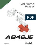 Manual Snorkel Ab46je