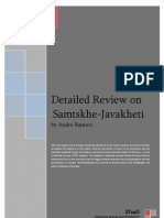 Detailed Review on Samtskhe-Javakheti