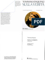 Tommaso d'Aquino - Sulla verità (Quæstiones disputatæ de veritate, testo latino a fronte)