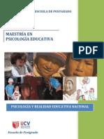 Modulo Psicologia y Realidad Educativa Nacional