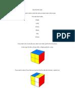 rubiks mini cube
