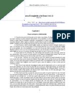 Marea Evanghelie a Lui Ioan Vol 2 Dicteu Divin Prin Jakob Lorber