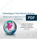 technology and your school librarian