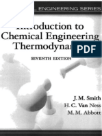 Intro to chemical engineering thermo