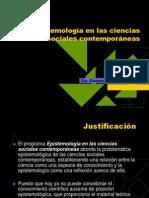 Epistemología en las ciencias sociales contemporáneas