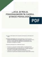 Psihopedagogie speciala Psihodiagnostic