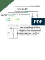 AP Circuits HW Solutions