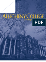 Allegheny College Course Catalogue