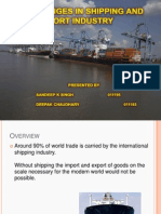 Shipping Industry Ppt