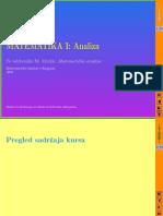 Matematička analiza 1