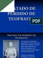 Presentación tratado perdido de Teofrasto