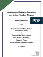 Illegal Aerosol Spraying Operations Over United Kingdom Airspace. (aka-chemtrails)
