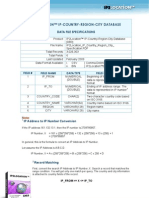 IP2Location™ IP Country Region City Specification