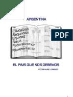 Argentina-El País Que Nos Debemos