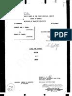 Divorce Decree 1964 - 13 Pages -- Merged!