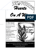 hearts on a wire - newsletter 1