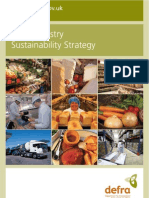 Food industry sustainability strategy-DEFRA