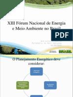 Ministério do Meio Ambiente - MMA - Ana Lúcia Dolabella