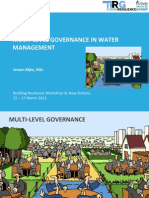"Jeroen Rijke - ""Multi-Level Governance in Water Management"""