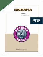 ROTEIRO Geografia Anglo 2010