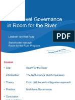 """Liesbeth van Riet Paap - """"Multi-Level Governance in Room for the River"""""""