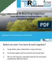 """Sebastiaan van Herk - """"Working & Learning Together"""