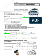 Cours 07 Rendement
