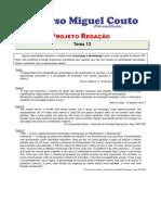 Projeto Redacao 2012 Tema 13