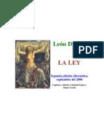 Duguit Leon - La Ley