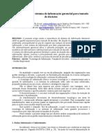 ARTIGO CIENTÍFICO MODELO - A importância do sistema de informação gerencial para tomada de decisões