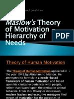 Maslow hierarchy (6)