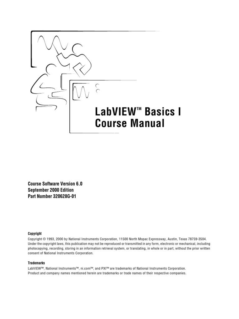 labview basics i course manual icon computing menu computing rh scribd com