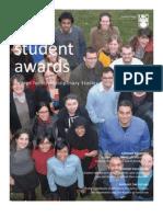 CFIS Student Award Fact Sheet