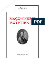 A. Cagliostro - Maconnerie Egyptienne