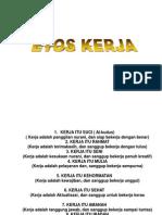 Ethos Kerja