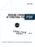 Buckling Strength of Structural Plates