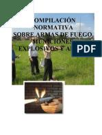 Compendio - Leyes Sobre Armas de Fuego y Afines Paraguay