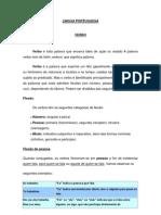 Lingua Portuguesa Verbo