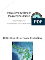 "Billy Nungesser - ""Innovative Building in Plaquemines Parish"""