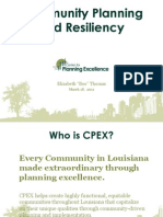 """Boo Thomas - """"Community Planning and Resiliency"""""""