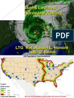 """General Honore - """"Lessons Learned from Hurricane Katrina"""""""
