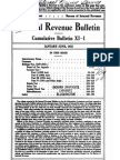 Bureau of Internal Revenue Cumulative Bulletin XI-1 (1932)