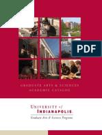 U Indianapolis grad catalog.pdf