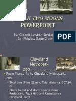 Walk Two Moons Powerpoint IanJordanGageGarrett
