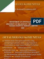 KULIAH OFTALMOLOGI KOMUNITAS