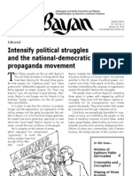 Ang Bayan January 21, 2013 issue