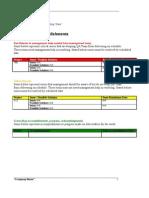 Weekely QA Status Report