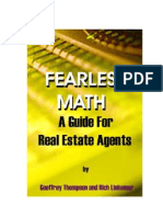 Fearless Math A guide for Real Estate Agents