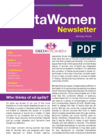 Delta Women Newsletter (January 2013)