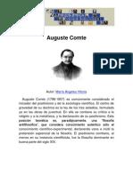 La filosofía de Augusto Comte